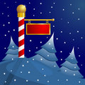 North Pole Christmas Royalty Free Stock Photography