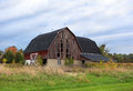 North ravines barn grand river in the fall Stock Photos