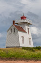 North rustico lighthouse prince edward island canada Royalty Free Stock Image