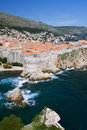 North Side of Dubrovnik Royalty Free Stock Images