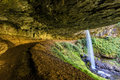 North Silver Falls Oregon Royalty Free Stock Photo