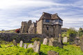 The North Tower, Stokesay Castle, Shropshire, England. Royalty Free Stock Photo