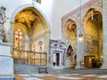 North transept of Basilica di Santa Croce. Florence, Italy Royalty Free Stock Photo
