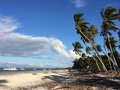 North west panglao island white sand beach philippines beautiful and remote on the part of Royalty Free Stock Photo