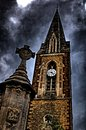 Northampton chappel evening view of in hdr Stock Photo