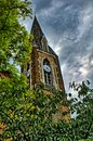 Northampton chappel evening view of in hdr Stock Image