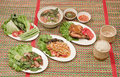 Northeast Thai food Stock Image