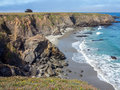 Northern california coastline the rocky pacific coast in Royalty Free Stock Photo