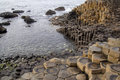 Northern Ireland's Giant's Causeway Stock Images
