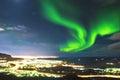 Northern Lights Above Reykjavi...