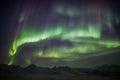 Northern Lights on the Arctic sky - Svalbard