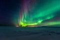 Northern Lights Aurora Borealis Royalty Free Stock Photo