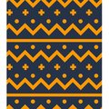 Northern wool seamless pattern