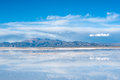 Northwest argentina salinas grandes desert landscape on andes is a salt in the jujuy province it is of industrial importance for Stock Photography