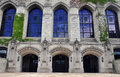 Northwestern university campus building detail in evanston illinois Stock Image