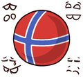 Norway country ball