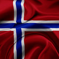 Norway flag Royalty Free Stock Photo