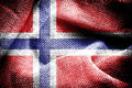 Norway Flag. Royalty Free Stock Photo
