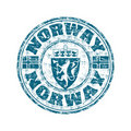 Norway grunge rubber stamp Royalty Free Stock Photo