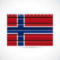 Norway siding produce business company icon illustration Stock Photo