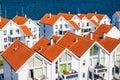 Norwegian architecture Royalty Free Stock Photo