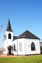 Norwegian Church, Cardiff Bay Royalty Free Stock Photo