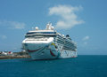 Norwegian dawn cruise ship docked in bermuda june on june was the first line vessel to Royalty Free Stock Image