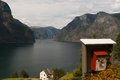 Norwegian fjord Royalty Free Stock Photo