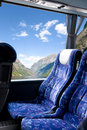 Norwegian Fjord Bus Tour Stock Photography