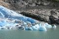 Norwegian glacier Stock Photo