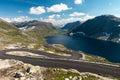 Norwegian Serpentine Road