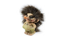 Norwegian troll the isolated on the white background Stock Photo