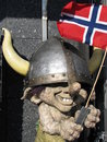Norwegian viking troll Stock Photos