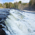Norwegian waterfall Stock Photography