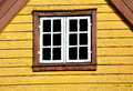 Norwegian window Stock Photography