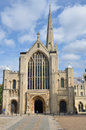 Norwich Cathedral Royalty Free Stock Photos