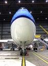 Nose large jet Royalty Free Stock Photo