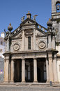 Nossa senhora da graca church in evora portugal the Royalty Free Stock Images