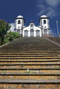 Nossa Senhora de Monte church, Monte, Madeira Royalty Free Stock Photo