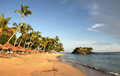 Nosy be beach an idyllic in madagascar Royalty Free Stock Photo