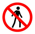 Not allowed, No entry sign,