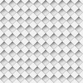 Notched diamond pattern seamless white shapes Stock Photo