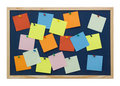 Note board Royalty Free Stock Photo