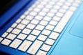Notebook Keyboard Royalty Free Stock Photo