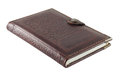 Notebook in leather cover Royalty Free Stock Photo