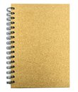 Notebook Made of recycled paper Royalty Free Stock Photo