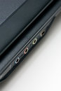 Notebook ports close up Royalty Free Stock Photo
