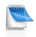 Notepad Obraz Royalty Free