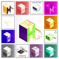 Notes box Royalty Free Stock Images