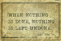 Nothing done laotzu when is is left undone ancient chinese philosopher lao tzu quote printed on grunge vintage cardboard Stock Photos